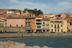 Collioure in France Stock Photography