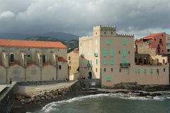 Collioure in France Royalty Free Stock Images