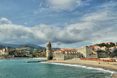 Collioure in France Royalty Free Stock Photos