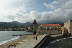 Collioure in France Royalty Free Stock Photo