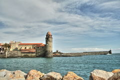 Collioure in France Stock Photo