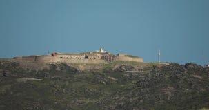 Collioure, Francja Fortu niedźwiedź W słonecznym dniu stara forteca zbiory