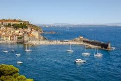Collioure, Frankreich Lizenzfreie Stockbilder