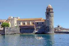 Collioure, Frankrijk Stock Foto's