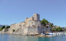 Collioure Frankrike Royaltyfria Bilder