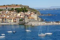 Collioure Frankrike Royaltyfri Foto