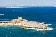 Collioure, Linguadoca-Rossiglione, Francia Fotografia Stock Libera da Diritti