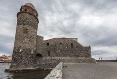 Collioure, Occitanie, Γαλλία Στοκ εικόνες με δικαίωμα ελεύθερης χρήσης