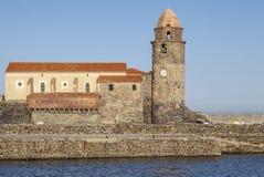 Collioure, Occitanie, Γαλλία Στοκ φωτογραφίες με δικαίωμα ελεύθερης χρήσης
