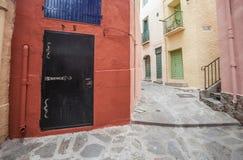 Collioure, Occitanie, Frankreich lizenzfreie stockfotografie