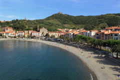 Collioure in South West France Royalty Free Stock Photos