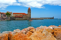 Collioure, Southern France Stock Image