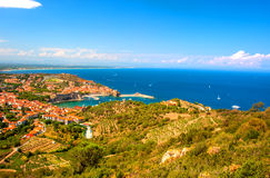 Collioure, Southern France Stock Images