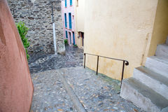 Collioure street Royalty Free Stock Images