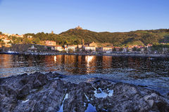 Collioure in the Vermilion coast, France Stock Image