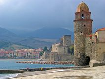 Collioure view Royalty Free Stock Photos