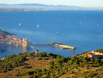 Collioure village Royalty Free Stock Photos