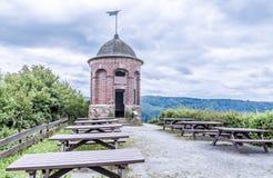 Collis torn i Zell en derMosel Rheinland-Pfalz Tyskland arkivbild