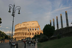 Colliseum. Roman Landmark stock photo