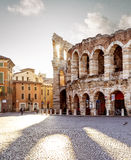 Colliseum in Verona city. Italy Royalty Free Stock Photos