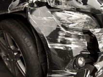 Collision damage Royalty Free Stock Images