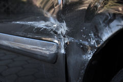 Collision damage Stock Photography