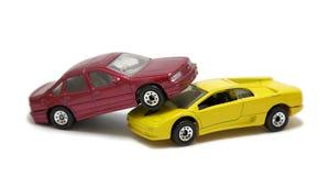 Collision de véhicule Images stock