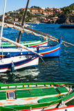 Colliure łodzie Zdjęcie Stock