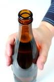 Collo 3 della bottiglia Fotografie Stock