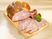 Collo arrostito della carne di maiale Fotografie Stock Libere da Diritti