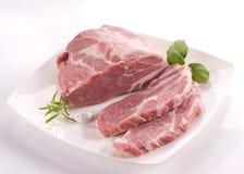 Collo della carne di maiale Fotografia Stock Libera da Diritti
