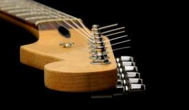 Collo della chitarra dell'annata fotografia stock libera da diritti