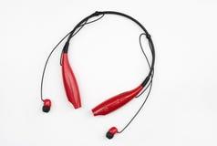 Collo senza fili & Earbuds di Bluetooth Fotografia Stock