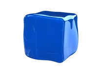 Colloid cube Stock Photos