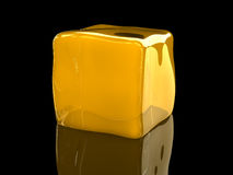 Colloid cube Stock Images