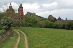 Collonges-Ла-румян (Франция) стоковые изображения rf