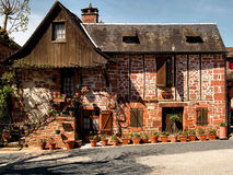 Collonges la Rouge Royalty Free Stock Images