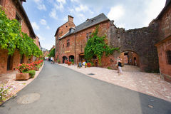 Collonges la Rouge Royalty Free Stock Photography
