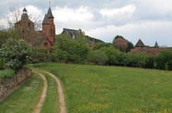 Collonges-La-rouge (Frankrijk) royalty-vrije stock afbeeldingen