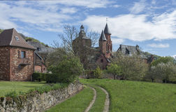 Collonges-la-Rouge Royalty Free Stock Photos