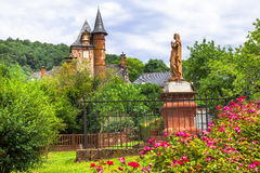 Collonges-la-Rouge - red village in France Stock Image