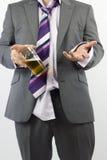 Colloquio della birra Immagine Stock Libera da Diritti