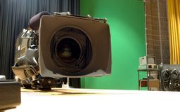 Colloquio della macchina fotografica Immagini Stock Libere da Diritti