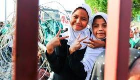 Colloquio di pace musulmano Fotografia Stock Libera da Diritti