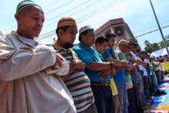 Colloquio di pace musulmano Fotografie Stock Libere da Diritti