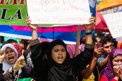Colloquio di pace musulmano Fotografia Stock