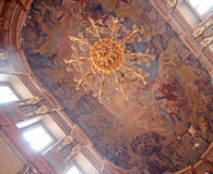The Colloredo-Mansfeld Palace in Prague Royalty Free Stock Photos