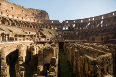 Colloseo. Sunny day at the colloseum rome Royalty Free Stock Images