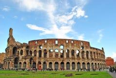 Colloseum在罗马 图库摄影