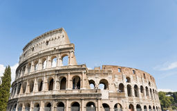 Colloseum στη Ρώμη Στοκ Φωτογραφίες
